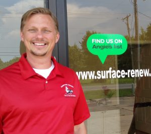 About Bob Kennedy, Owner of Surface Renew Little Rock Arkansas