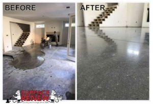 Concrete polishing Arkansas Surface Renew