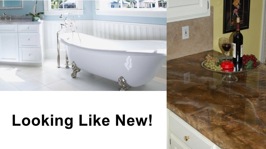 Tile Refinishing Looks New, Costs Less