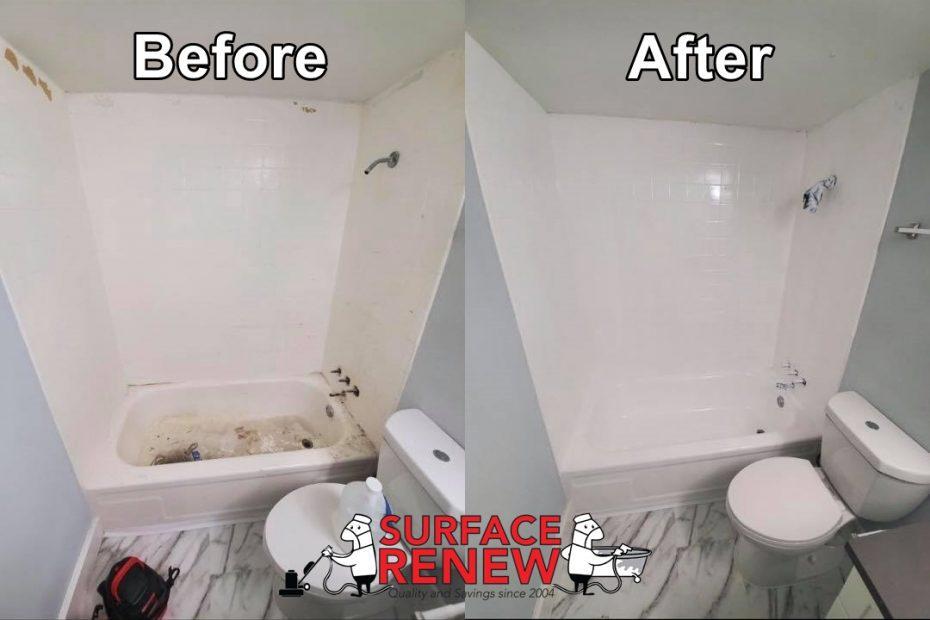 Fiberglass Shower Refinishing Tub Surround